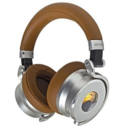 Meters Music OV-1 Over Ear Noise Cancelling Headphones w/ VU Meter (Tan)