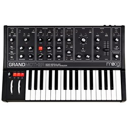 Moog Grandmother Semi-Modular Analogue Synthesiser (Dark)
