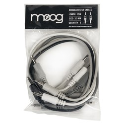 "Moog Mother Cables 5x 12"" Modular Synth Patch Cables"