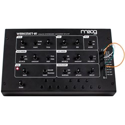Moog Werkstatt-01 Semi-Modular Analogue Synthesiser (Moogfest 2014 Kit)