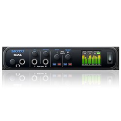 MOTU 624 16x16 Thunderbolt, USB3 & AVB Audio Interface w/ ESS Sabre32 Ultra DAC
