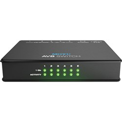 MOTU AVB Switch 5-Port 1GB AVB Ethernet Switch