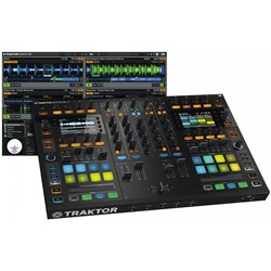 Native Instruments Traktor Kontrol S8 Flagship All-In-One 4-Channel DJ System