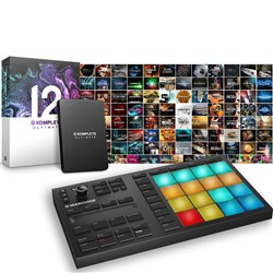 Native Instruments Maschine Mikro MK3 w/ Komplete 12 Ultimate Upgrade