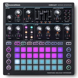 Novation Circuit Mono Station Paraphonic Analogue Synth w/ 3-track Sequencer