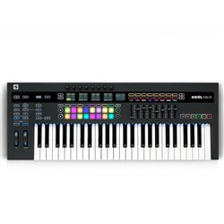 Novation Remote SL 49 MKIII MIDI & CV Keyboard Controller w/ 8-Track Sequencer