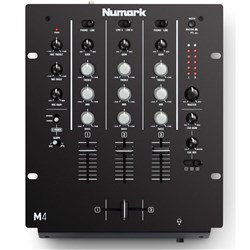 Numark M4 Three-Channel Entry-Level DJ Mixer
