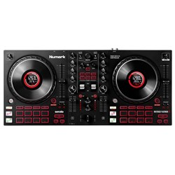 Numark Mixtrack Platinum FX 4-Deck Advanced DJ Controller w/ Jog Wheel Displays & FX