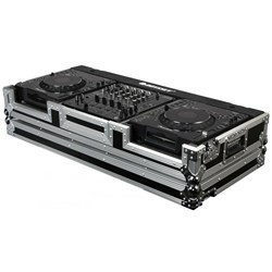 "Odyssey Flight Ready Coffin XDJ1000mk2  / Smaller CDJ & 12"" Mixer (FR12CDJWE)"