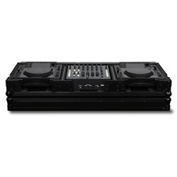 "Odyssey Black Label Coffin for 2 Large Players & 12"" Mixer"