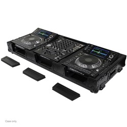 "Odyssey Black Label XD Extra Deep Coffin for Large Players & 12"" Mixer (FZ12CDJWXDBL)"