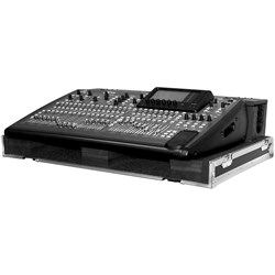 Odyssey Flight Zone Behringer X32 Wheeled Case w/ Cable Tray