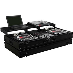 "Odyssey Black Remix Coffin Battle Turntables & 10"" Mixer"