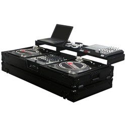 "Odyssey Black Label Battle Coffin: 2 Decks & 12"" Mixer"