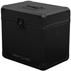 "Odyssey Black Krom 12"" Vinyl Case (Holds 70 Records) (KLP70BL)"