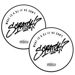Ortofon Scratch Slipmats (Pair)