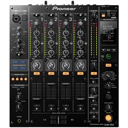 Pioneer DJM850 4 Channel Performance DJ Mixer (Black)