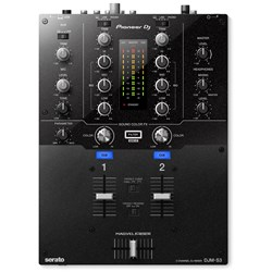 Pioneer DJMS3 Scratch-Style 2-Channel DJ Mixer for Serato DJ Pro
