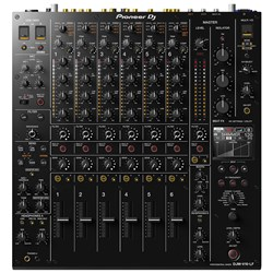 Pioneer DJMV10LF 6-Channel Professional DJ Mixer w/ Long Throw Faders