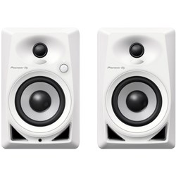 "Pioneer DM40 4"" Active Studio Monitors (Pair) in White"