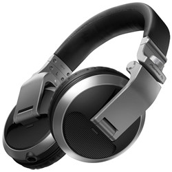 Pioneer HDJX5 Over-Ear DJ Headphones (Silver)