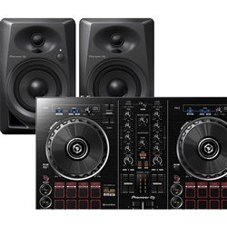 Pioneer DDJRB Portable 2-Channel DJ Controller with DM40 Powered Monitors