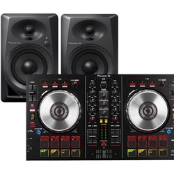 Pioneer DDJSB2 Two Channel Serato DJ Controller W/ DM40 Powered Monitors