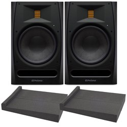"Presonus R80 8"" AMT Studio Monitor (Pair) w/ ISPD-4 Isolation Pads"