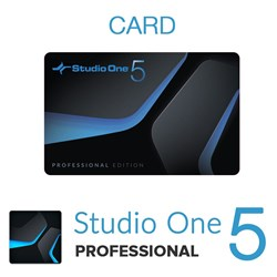 PreSonus Studio One 5 Professional (Physical Card)