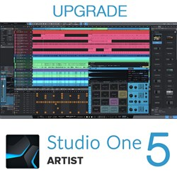 PreSonus Studio One Artist 1-4 to Artist 5 Upgrade (eLicence Only)