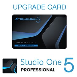 PreSonus Studio One Artist 1-4 to Pro 5 Upgrade (Physical Card)
