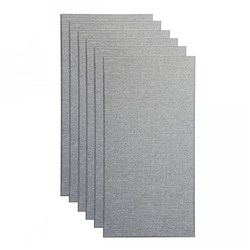 "Primacoustic Square Edge Panels 24""x48""x2"" 6-Pack (Grey)"