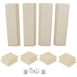 Primacoustic London 10 Room Kit 20-Pack-12 Scatter Blocks 8 Control Columns (Beige)
