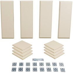 Primacoustic London 8 Room Kit 12-Pack - 8 Scatter Blocks 4 Control Columns (Beige)