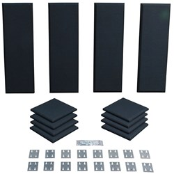 Primacoustic London 8 Starter Room Kit 12-Panels (Black)