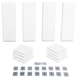 Primacoustic London 8 Room Kit 12-Pack - 8 Scatter Blocks 4 Control Columns (Paintable)