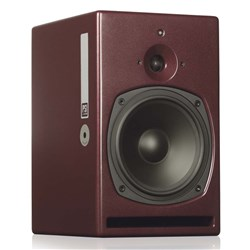 "PSI Audio A21M 8"" 2-Way Active Reference Studio Monitors (Red)"