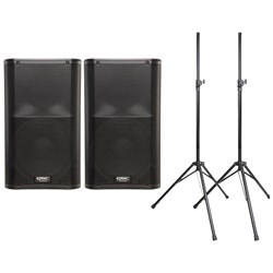 QSC K12 Package Deal w/ Stands