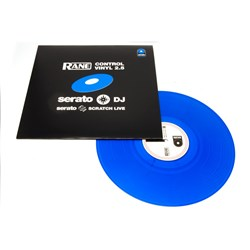 Serato Rane Control Vinyl Second Edition Blue (Single)