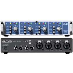 RME Quad Mic II 4-Channel Portable Mic Preamp