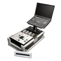 "Road Ready RR10MIX 10"" Mixer Case w/ Laptop Slider"