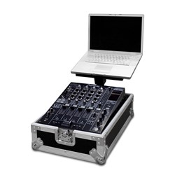 "Road Ready RR12MIXL 12"" Mixer Case w/ Laptop Stand"