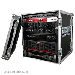 Road Ready RR12UAD Deluxe 12U Amplifier Case