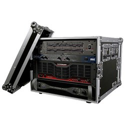 "Road Ready RR8UAD 8U Amplifier Deluxe Case (18"" Body Depth)"