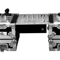 "Road Ready RRBB Battle Bridge for Rack Mount 10"" DJ Mixers"