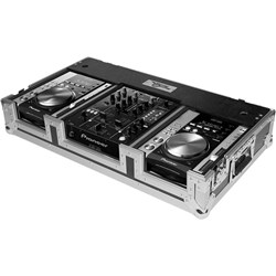 "Road Ready RRCDJDNS10W Coffin Case for CDJ400 & 10"" Mixer"