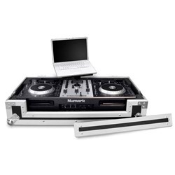 Road Ready Pioneer DDJS1/T1, XDJR1 & Numark Mixdeck Case w/ Laptop tray