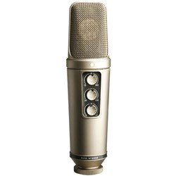 "Rode NT2000 Seamlessly Variable Dual 1"" Condenser Mic"