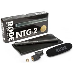 Rode NTG2 Multi-Powered Shotgun Microphone