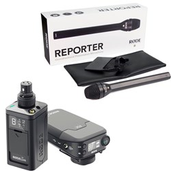 RODELink Newsshooter Kit Digital Wireless System w/ Reporter Interview Microphone